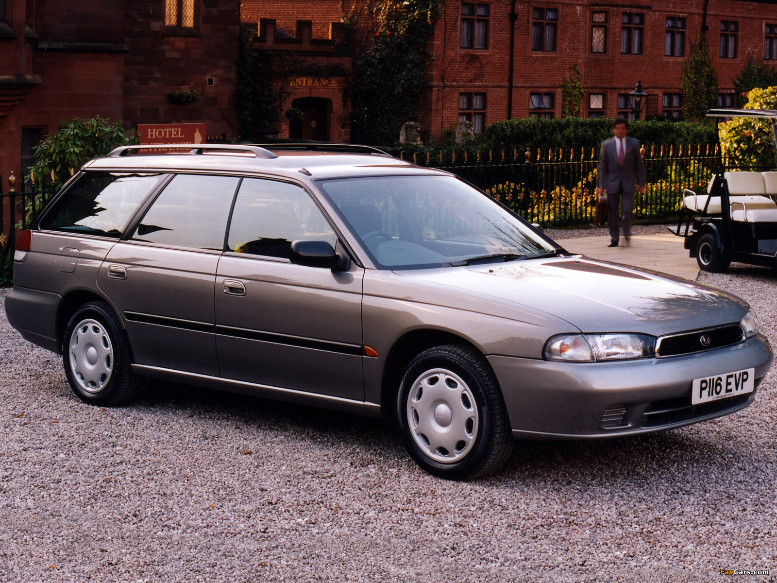 Pictures Of Subaru Legacy Station Wagon UK Spec BD 1994 99