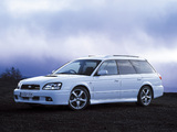 Pictures of Subaru Legacy 2.0 GT-B E-tune II Touring Wagon (BE) 2001–03