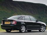 Pictures of Subaru Legacy UK-spec 2003–06