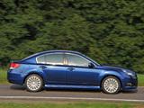 Pictures of Subaru Legacy (BM) 2009–12