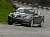 Pictures of Subaru Legacy 2.5i US-spec 2009
