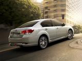 Pictures of Subaru Legacy CN-spec (BM) 2012