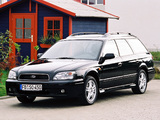 Subaru Legacy 2.5i Touring Wagon (BE,BH) 1998–2003 images