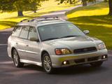Subaru Legacy 2.5i Station Wagon US-spec (BE,BH) 1998–2003 wallpapers