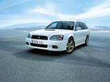 Subaru Legacy 2.0 GT-B E-tune II Touring Wagon (BE) 2001–03 images