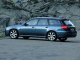 Subaru Legacy 3.0R spec.B Station Wagon 2003–06 images