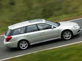 Subaru Legacy 3.0R Station Wagon 2003–06 photos