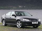 Subaru Legacy UK-spec 2003–06 wallpapers