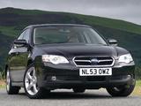 Subaru Legacy UK-spec 2006–09 wallpapers