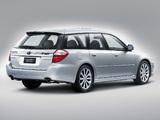 Subaru Legacy 3.0R spec.B Station Wagon 2007–09 wallpapers
