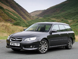 Subaru Legacy 3.0R spec.B Station Wagon UK-spec 2007–09 wallpapers