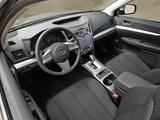 Subaru Legacy 2.5i US-spec 2009 images