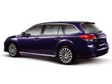 Subaru Legacy 2.5 GT-S Touring Wagon (BR) 2009–12 photos