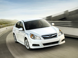 Subaru Legacy 2.5i US-spec 2009 photos
