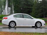 Subaru Legacy 3.6R US-spec (BM) 2009–12 pictures