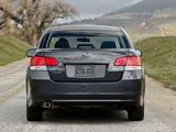 Subaru Legacy 2.5i US-spec 2009 pictures