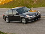 Subaru Legacy 2.5i US-spec 2009 wallpapers