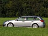 Subaru Legacy Wagon 2009 wallpapers