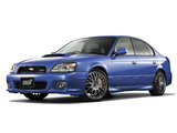 Subaru Legacy STi S401 (BE,BH) 2002 wallpapers