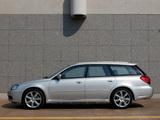 Subaru Legacy 3.0R spec.B Station Wagon 2003–06 wallpapers