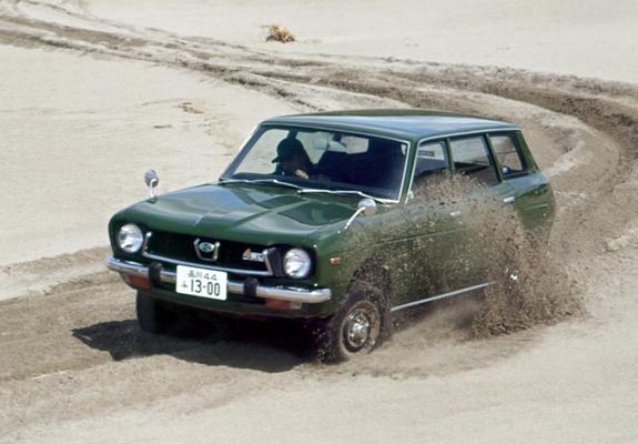 Subaru Leone Wagon I 1972 Photos