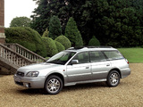 Images of Subaru Outback UK-spec 1999–2003