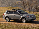 Images of Subaru Outback 3.6R US-spec 2009