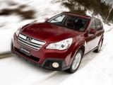 Images of Subaru Outback 3.6R AU-spec (BR) 2012