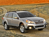 Images of Subaru Outback 2.5i US-spec (BR) 2012