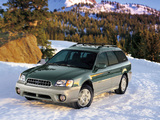 Photos of Subaru Outback 2.5i US-spec 1999–2003