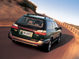 Photos of Subaru Outback 2.5i 1999–2003