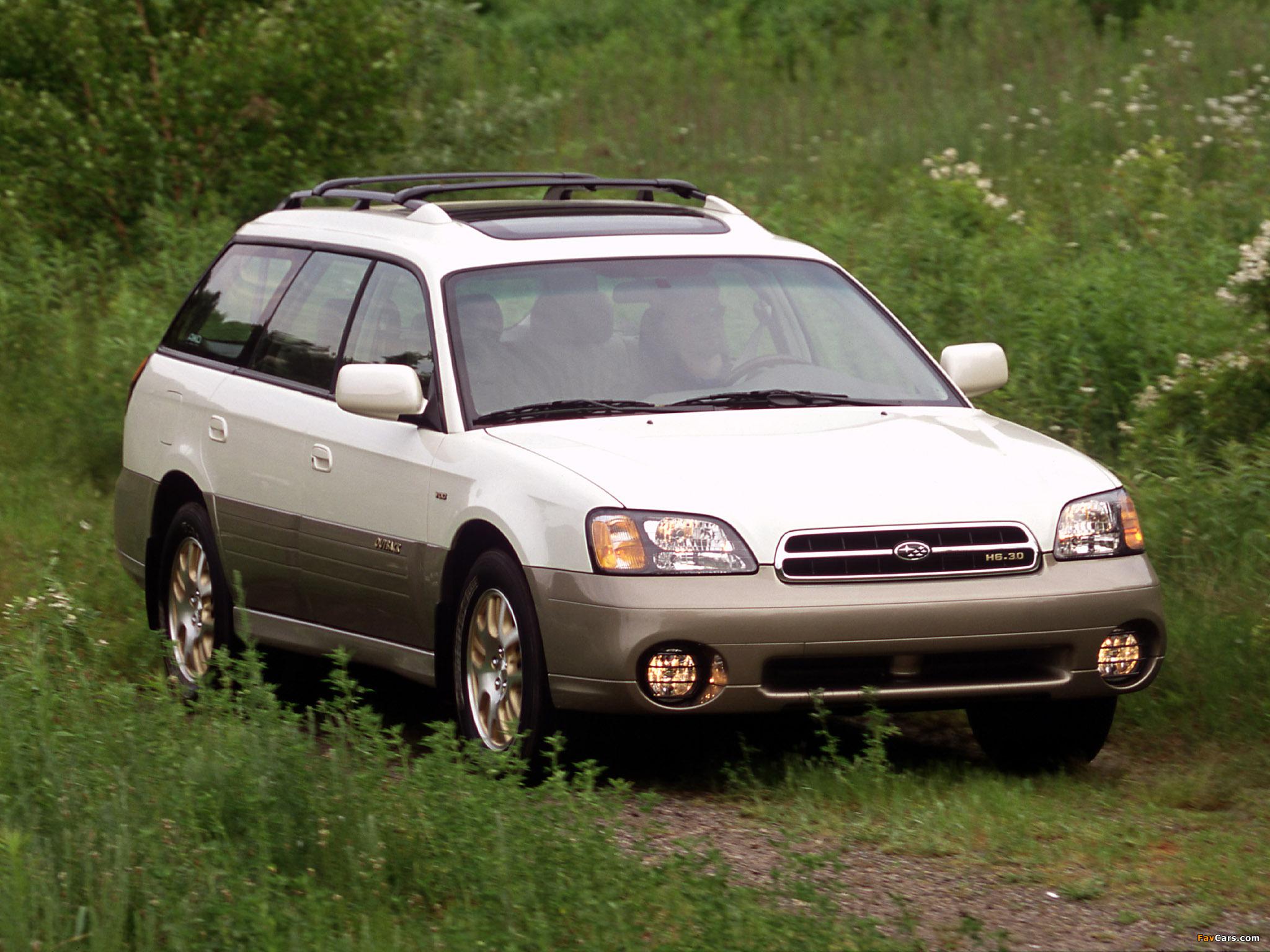 Photos Of Subaru Outback H6 30 Us Spec 200003 2048x1536 2000 Legacy 2048 X