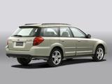 Photos of Subaru Outback 3.0R 2003–06