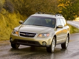 Photos of Subaru Outback 3.0R US-spec 2006–09