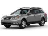 Photos of Subaru Outback 3.6R US-spec 2009