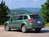 Photos of Subaru Outback 2.5i US-spec (BR) 2009–12