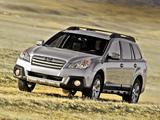 Photos of Subaru Outback 2.5i US-spec (BR) 2012