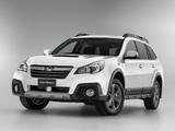 Photos of Subaru Outback 2.0D AU-spec (BR) 2012