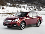Photos of Subaru Outback 3.6R AU-spec (BR) 2012