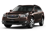 Pictures of Subaru Legacy Outback Extended Edition (BR) 2011–12