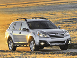 Pictures of Subaru Outback 2.5i US-spec (BR) 2012