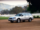 Subaru Outback 2.5i US-spec 1999–2003 images