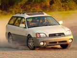 Subaru Outback H6-3.0 US-spec 2000–03 wallpapers