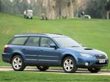 Subaru Outback 2.0D UK-spec (BP) 2008–09 photos