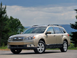 Subaru Outback 2.5i US-spec (BR) 2009–12 images