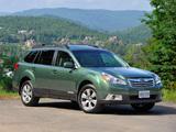 Subaru Outback 2.5i US-spec (BR) 2009–12 photos