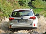 Subaru Outback 2.0D (BR) 2009–12 photos