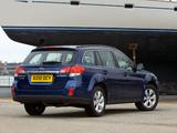 Subaru Outback 3.6R UK-spec (BR) 2009–12 photos