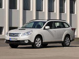 Subaru Outback 2.0D (BR) 2009–12 pictures