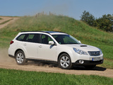 Subaru Outback 2.0D (BR) 2009–12 wallpapers